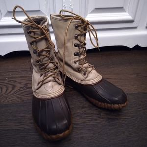 Vintage Lacrosse Lace-up Boots